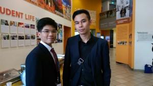 Samuel and Karlo
